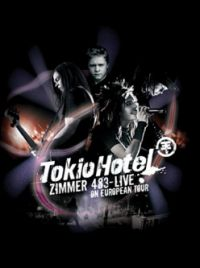 Cover Tokio Hotel - Zimmer 483 - Live In Europe [DVD]